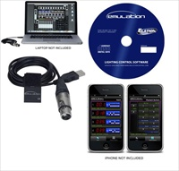 Interface DMX Elation Emulation 512 canais